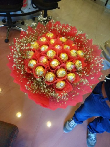 Ferrero rocher bunch
