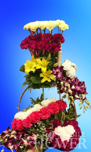 jumbo arrangement  / mobile flower pune