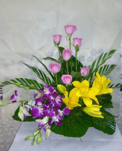 Sweet Surprise Flower Arrangement