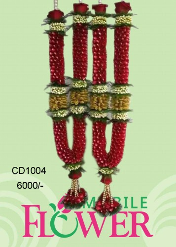 wedding garland / mobile flower pune