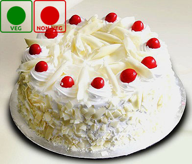 1 KG TEMPTING WHITEFOREST CAKE