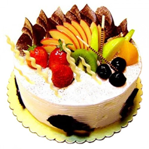 Half Kg Full Of Fruits Cake