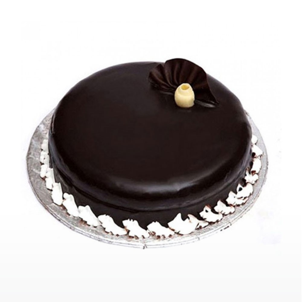 1kg Dark Chocolate Eggless Cake