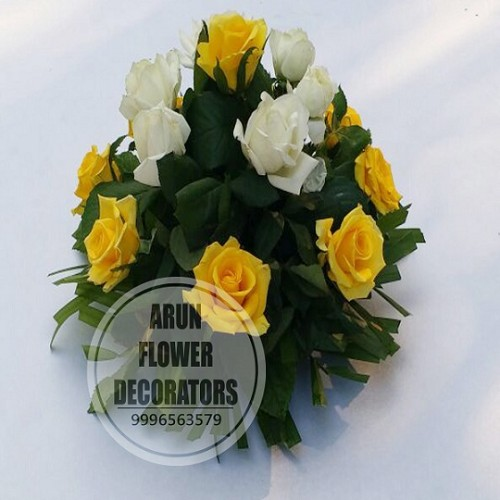 YELLOW AND WHITE ROSES(AFDT32)