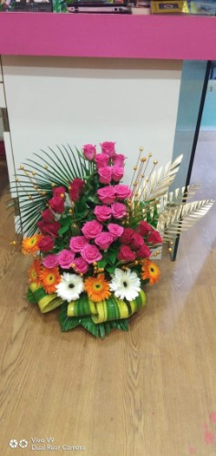 Arrangement  of mix beautiful flowers /just flowers,  ahmednagar
