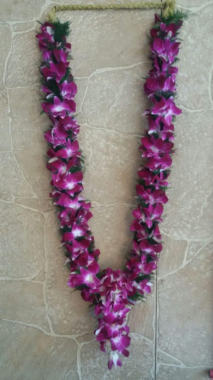 Orchid Garland