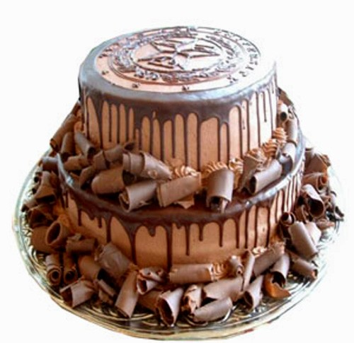 3kg Double Decker chocolate cake