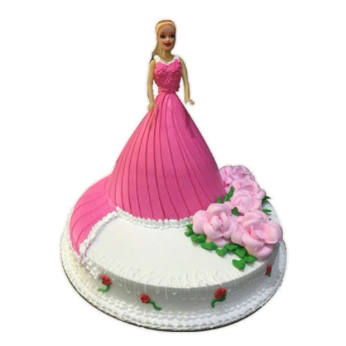 Lovable Barbie Cake 3kg