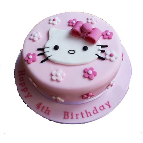 1.5kg Hello Kitty fondant Cake