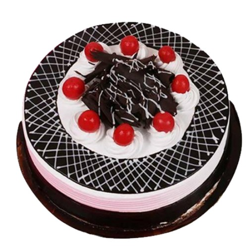Black Forest Trendy Cake