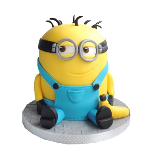 2kg Minion with Banana Cake